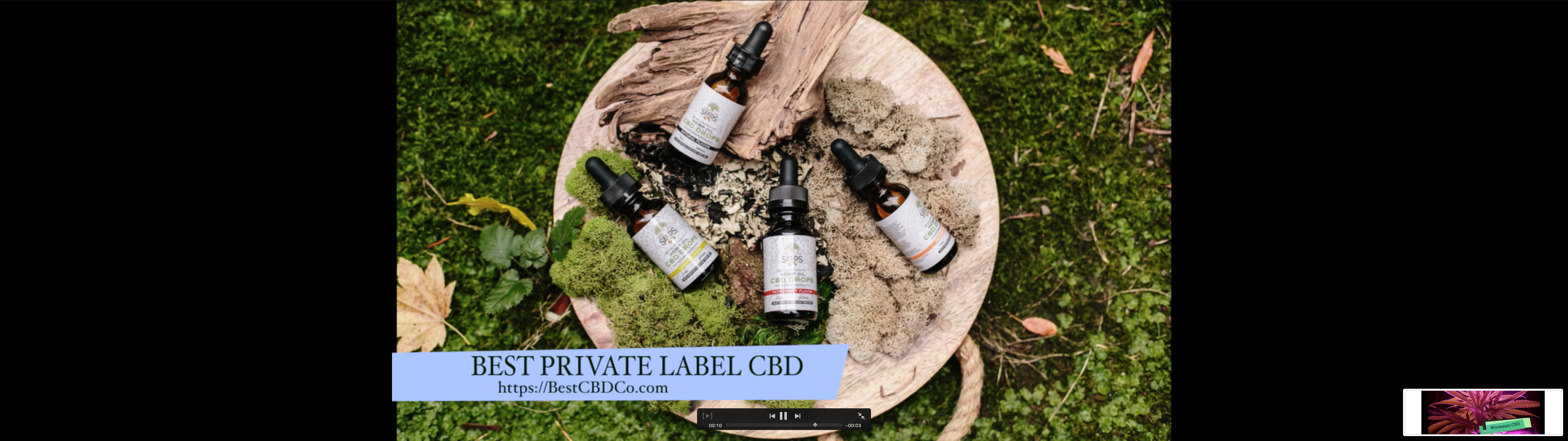 CBD Wholesale Private Label